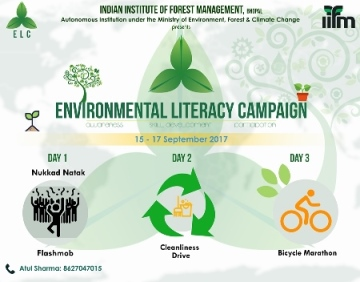 Environmental Literacy Campaign during 15th-17th September, 2017