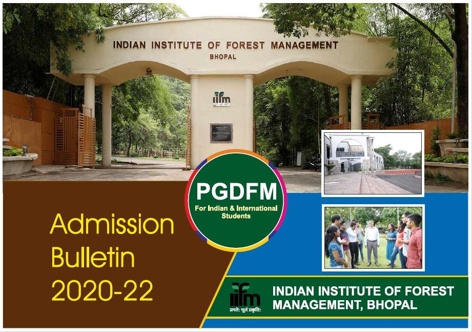 PGDFM Admission Bulletin