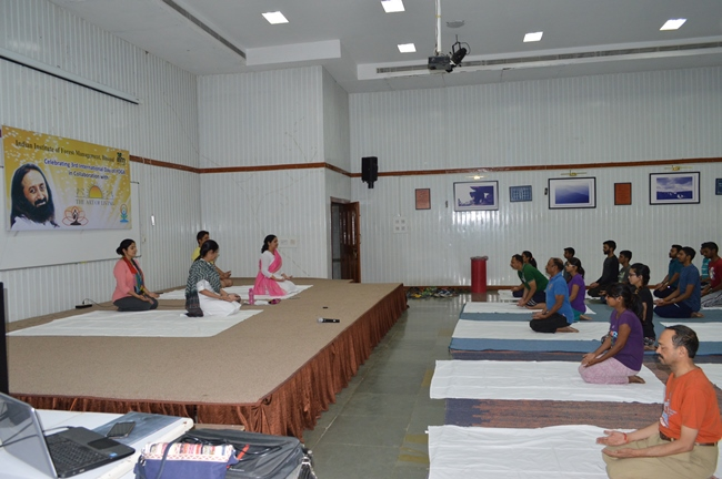International day of Yoga at IIFM